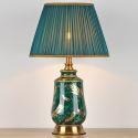 Lampe de table en céramique vitrée H60cm pour salon chambre à coucher