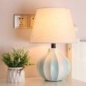 Lampe de table moderne en céramique fer H41cm pour salon chambre à coucher