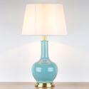 Lampe à poser en céramique vitrée monochrome de salon chambre à coucher