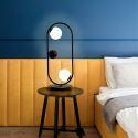 Nouveau design Lampe de table LED abat-jour en verre pour chambre à coucher