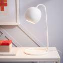 Lampe à poser en fer H42cm pour chambre salle d'étude, or/noir/blanc