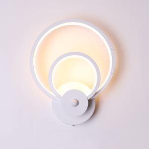 Applique à LED en aluminium acrylique H26cm pour salon couloir chambre à coucher
