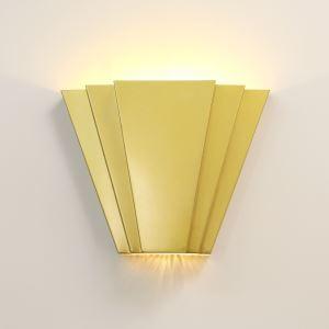 Applique murale LED moderne pour salon couloir, Noir/Or/Blanc