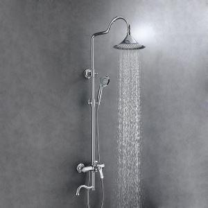 Colonne de douche moderne eau froide chaude pour salle de bains, 5 modèles