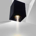 Projecteur LED carré en aluminium européen pour chambre à coucher boutique