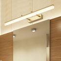 Applique murale LED en fer acrylique pour salon couloir salle de bains