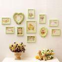 Set cadre photo en bois massif à 11 pièces pour salon chambre à coucher, style A/B