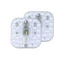Plafonnier LED source de lumière blanc froid pour salon couloir chambre