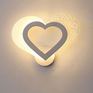 Applique murale LED en acrylique pour salon chambre à coucher d'enfant