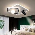 Lampe de plafond LED projecteur en acrylique aluminium pour salon chambre, S/M/L