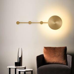 Applique murale LED en cuivre L70cm 8W 640 lumen pour salon chambre couloir