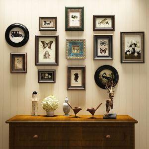 Cadre photo de décoration murale rétro américaine pour salon chambre