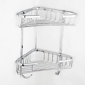 (Entrepôt UE) Contemporain rectangle chrome finition porte-savon