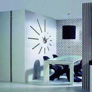 BRICOLAGE Wall Sticker Horloge (0752-10A022)