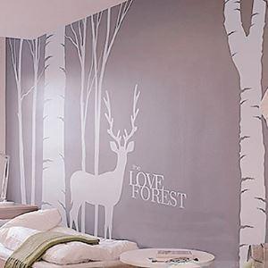 Sticker forêt d'amour (1985-P2)