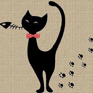 Sticker Mural - Cute Kitten (0565 - gz056)