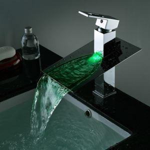 (Entrepôt UE) LED robinet mélangeur