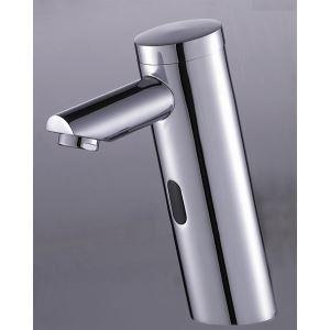 Robinet lavabo en laiton avec capteur automatique pour salle de bain