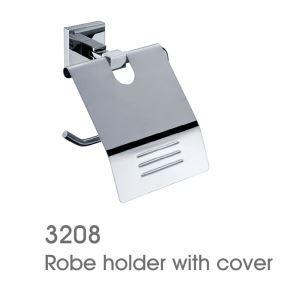 (Entrepôt UE) Porte papier toilette nouveau moderne couleur de chrome en laiton