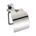 (Entrepôt UE) Porte papier toilette nouveau couleur de chrome en laiton