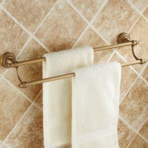 Porte-serviette bronze huilé pour salle de bain
