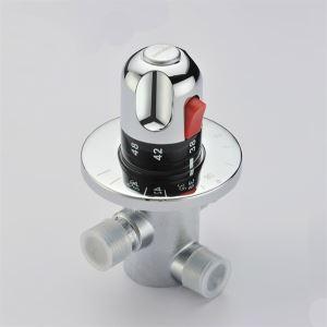 (Entrepôt UE) Thermostatique chromée Valve 0599-QH0211D