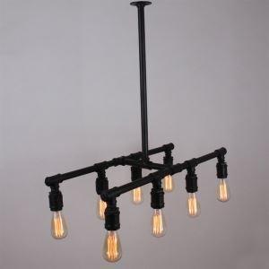 (Entrepôt UE) Lustre/Lampe Suspendue - Traditionnel/Classique/Rustique/Cocktail- avec Style mini - Métal