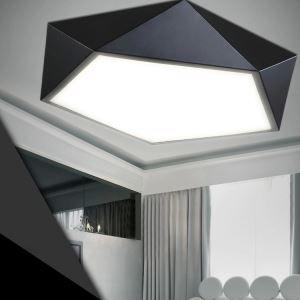 (Entrepôt UE) Simple moderne Creatif Acrylique LED Flush géométrique Lumière Mount Salon étude de Chambre Salle à manger