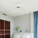 (Entrepôt UE) Plafonnier Moderne Acrylique Simple Creative LED blanche ronde encastrée Lumière Salon étude de Chambre Salle à manger