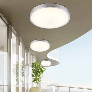 Plafonnier LED acrylique ronde pour salon couloir
