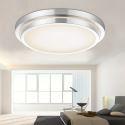 Moderne Mode simple LED acrylique double bordure Roundee Encastrée Lumière Salon Chambre d'étude Salle à manger