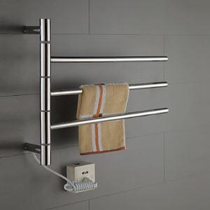 40W Sèche-serviettes électrique à inertie fluide thermostatique pour salle de bains