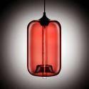 Suspension boule en verre H34cm bulle moderne ambre pour chambre restaurant