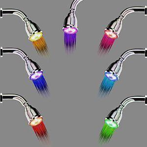 Pommeau de douche LED livraison gratuite