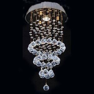 (Entrepôt UE) K9 Cristal Cycle Conception lustre plafonnier avec 1 Lampe
