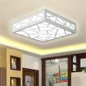 Plafonnier LED Blanc D25cm pour petite chambre salle