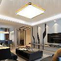(Entrepôt UE) Plafonnier 16W Nouveau installation intégrée LED Lampe Luxe Moderne Acrylique avec Lampe Réglable ouen ou Silver Can choose