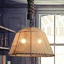 (Entrepôt UE) Rétro 1 Lampe coude de chanvre lustre