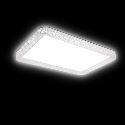 (Entrepôt UE) Plafonnier installation intégrée LED Non Polaire Lampe avec contrôle à distance Moderne/Contemporain Salle/Chambre à coucher/Salle à manger/Bureau PVC