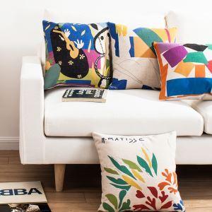 Bureau d'Oreiller Lin Peintures Matisse Quatre Modèles Canapés