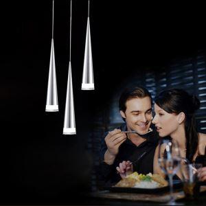Suspension LED 3 lumières Acrylique pour salle à manger