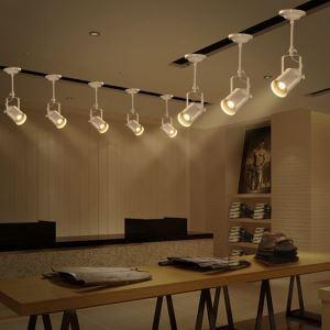 Spot projecteur Industriel Rétro Salon Salle à manger peinture pôle d'éclairage